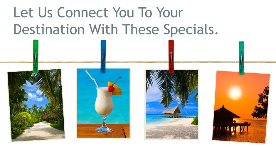 Travel Specials from Travel Connections